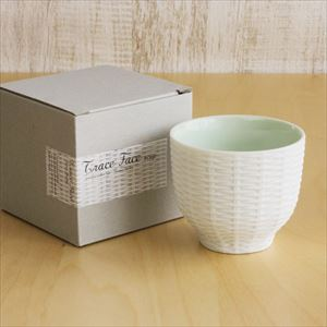 Teacup / Rattan Basket / Green / Trace Face series / CEMENT PRODUCE DESIGN_Image_3