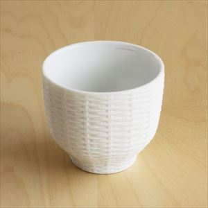 Teacup / Rattan Basket / White / Trace Face series / CEMENT PRODUCE DESIGN_Image_1