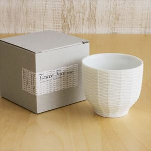 Teacup / Rattan Basket / White / Trace Face series / CEMENT PRODUCE DESIGN_Image_3