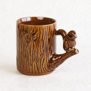 Mug / Chipmunk / Brown / Perch Cup Series_Image_1