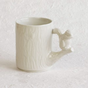 Mug / Chipmunk / White / Perch Cup Series_Image_1