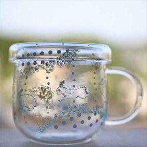 【合わせ買い対象】マグカップ/Tea Mate メリーゴーランド ラビット/セメントプロデュースデザイン_Image_1
