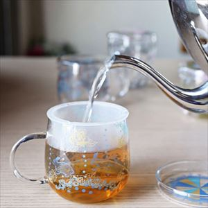 【合わせ買い対象】マグカップ/Tea Mate メリーゴーランド ラビット/セメントプロデュースデザイン_Image_2