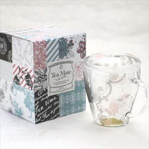 マグカップ/Tea Mate ガールズデイドリーム ローズ/セメントプロデュースデザイン_Image_3