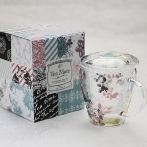 【合わせ買い対象】マグカップ/Tea Mate ガールズデイドリーム 小鳥/セメントプロデュースデザイン_Image_3