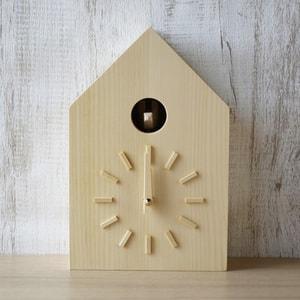 時計/鳩時計 トドマツ/モアトゥリーズデザイン