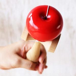 オブジェ、おもちゃ/りんごのけん玉/モアトゥリーズデザイン_Image_2