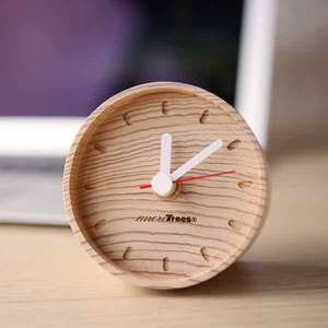Wooden table clock / more Trees design_Image_2