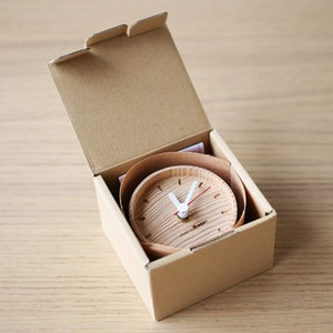 Wooden table clock / more Trees design_Image_3