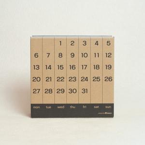 Wooden Perpetual calendar / more Trees design_Image_3