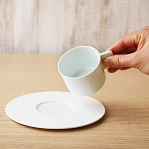 Coffee Cup & Saucer / White / S&B Series / 1616 arita japan_Image_1