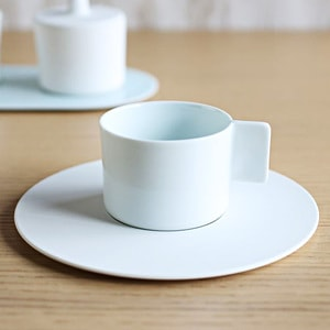 Coffee Cup & Saucer / White / S&B Series / 1616 arita japan_Image_2