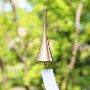 Japanese Wind Chime / Horn / Gold / Nousaku_Image_1