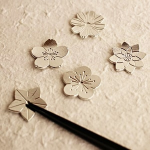 Chopstick Rest set / Flowers / Nousaku_Image_2
