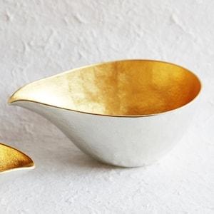 Katakuchi / L / Gold / Sake Pitcher / Nousaku