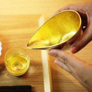 Katakuchi / S / Gold / Sake Pitcher / Nousaku_Image_2