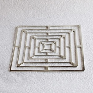 Tin tableware KAGO / Square / M / Nousaku _Image_2