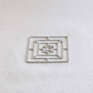 Tin tableware KAGO / Square / S / Nousaku _Image_2
