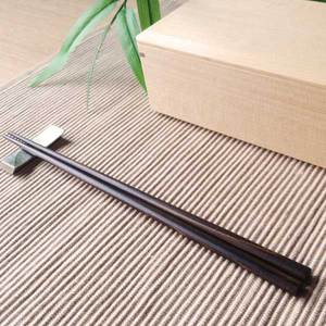 Wipe-lacquering Chopsticks/ Black_Image_1