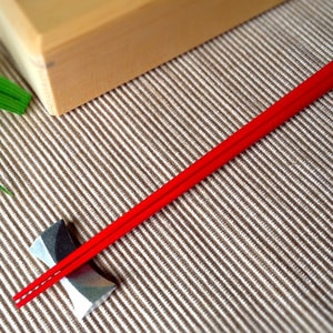 Wipe-lacquering Chopsticks/ Red_Image_2