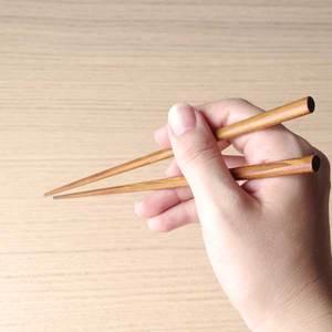 箸/拭漆楕円はし 生漆/輪島キリモト_Image_1