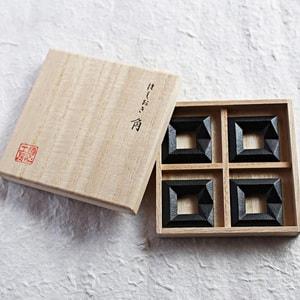 箸置き/角 4ヶセット 黒/鋳心ノ工房_Image_3