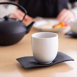 カップ/ティーカップ だえん 白/鋳心ノ工房_Image_2