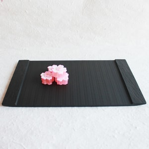 SUZURI / Slate cheese board / Rectangle Plate / L / Studio GALA_Image_1