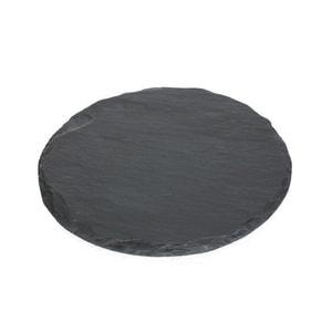 SUZURI (slate cheese board) / Round Plate / S / Studio GALA