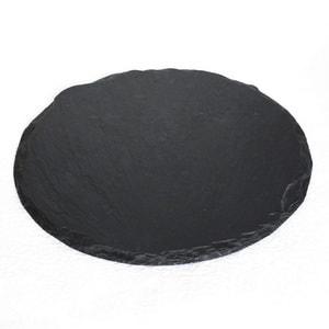 SUZURI / Slate cheese board / Round Plate / L / Studio GALA