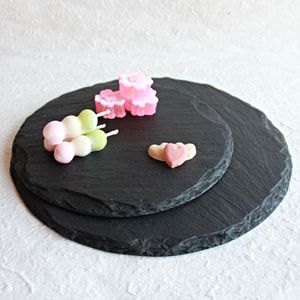 SUZURI (slate cheese board) / Round Plate / L / Studio GALA_Image_2