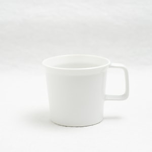 Coffee Cup with Handle / White / TY Series / 1616 arita japan