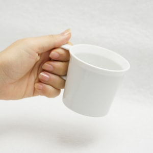 Coffee Cup with Handle/ White/ TY Series/ 1616 arita japan_Image_1