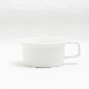 Teacup with Handle/ White/ TY Series/ 1616 arita japan