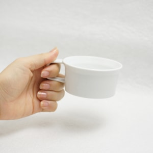 Teacup with Handle / White / TY Series / 1616 arita japan_Image_1