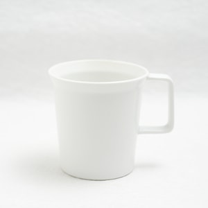 Mug with Handle/ White/ TY Series/ 1616 arita japan