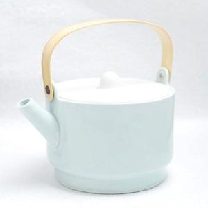 ティーポット/S&Bシリーズ Tea Pot ライトブルー ホワイト/1616 arita japan