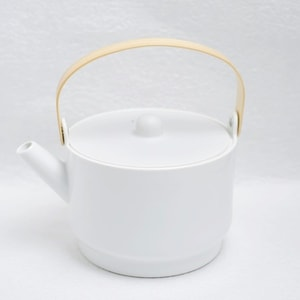 ティーポット/S&Bシリーズ Tea Pot ホワイト グレー/1616 arita japan