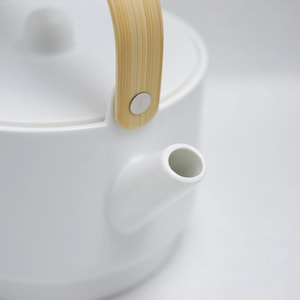 Teapot/ White/ S&B Series/ 1616 arita japan_Image_2
