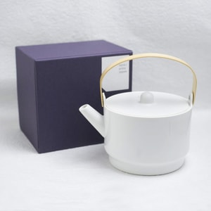 Teapot/ White/ S&B Series/ 1616 arita japan_Image_3