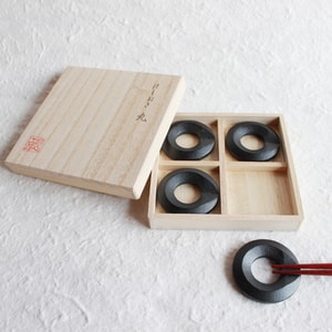 Chopstick Rest set / Maru (Circle) / Chushin Kobo