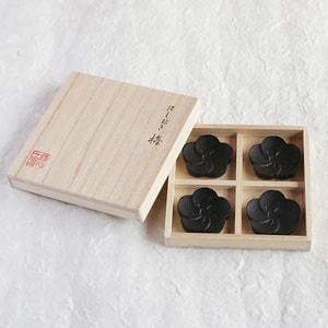 Chopstick Rests/ Ume(Japanese Plum)×4/ Chushin Kobo_Image_3