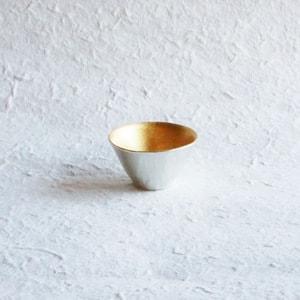 KIKI-II / Gold/ Sake Cup