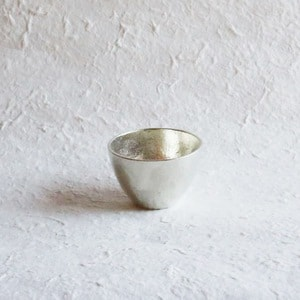Guinomi / Sake Cup / Silver / Nousaku