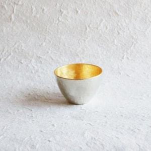 Guinomi/ Gold/ Sake Cup