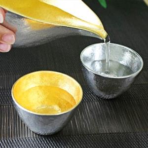 Guinomi/ Gold/ Sake Cup_Image_2