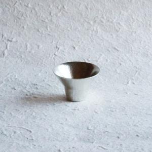 KIKI-I / Silver / Sake Cup / Nousaku