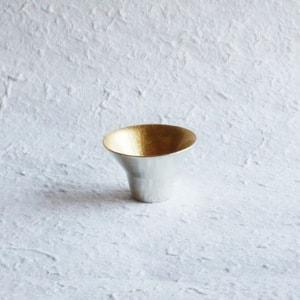 KIKI-I / Sake Cup / Gold / Nousaku