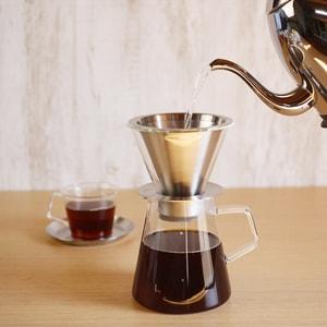 コーヒー道具/CARAT カラット コーヒードリッパー&ポット/KINTO_Image_2