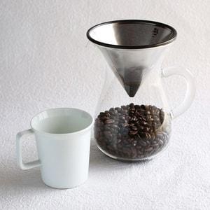 コーヒー道具/スローコーヒースタイル コーヒーカラフェセット 300ml/KINTO_Image_1